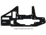 Carbon Fiber Upper Frame 2mm Left 7HV