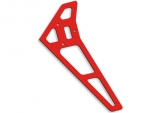 Neon Red Vertical Fin - Atom 500