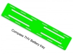 Neon Green G10 Battery Tray 2mm 7HV