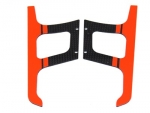 Carbon Fiber Orange Landing Gear Warp360