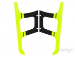 Carbon Fiber Yellow Landing Gear Warp360