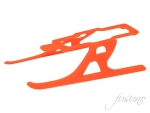 Plastic Landing Gear Type R-Orange 130X
