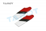 450 PRO CF Tail Blade / Red & White