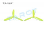 5 inch 3 Leaf Propeller Yellow (CW/CCW)