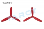 6 inch 3 Leaf Propeller Red (CW/CCW)