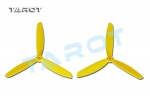 6 inch 3 Leaf Propeller Yellow (CW/CCW)