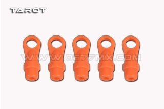 450/500 DFC Main Rotor Ball Link Orange